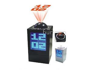 unique projection alarm clock,unusual alarm clock, unique gadgets, unique gifts, unique items