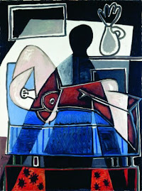 Pablo Picasso, La sombra sobre la mujer, 1953
