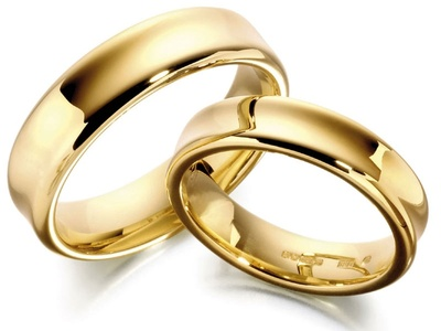 Cheap Gold Wedding Bands on Pair Of Beautifully Crafted Wedding Rings So I Can Propose To My