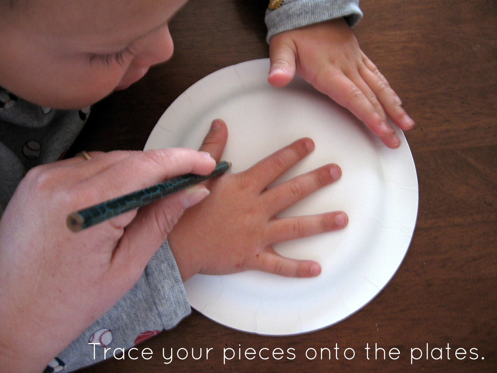 & Halloween Crafts - Paper Plate Skeleton - The 36th AVENUE