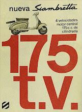 Publicidad Siambretta 175 t.v.
