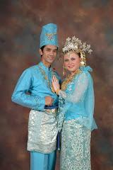 Pengantin Adat Melayu (Biru)