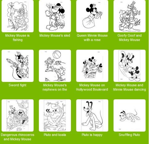 Para las invitaciones de Mickey o Minnie algunas ideas...
