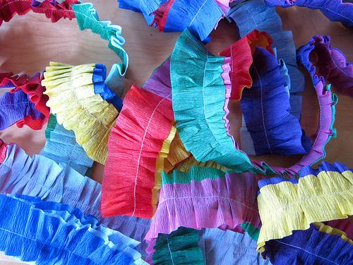 papel crepe decorativo y economico