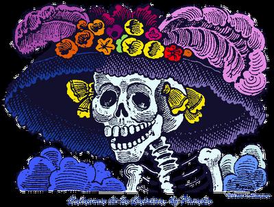 La tradicin de las Calaveritas Mexicanas
