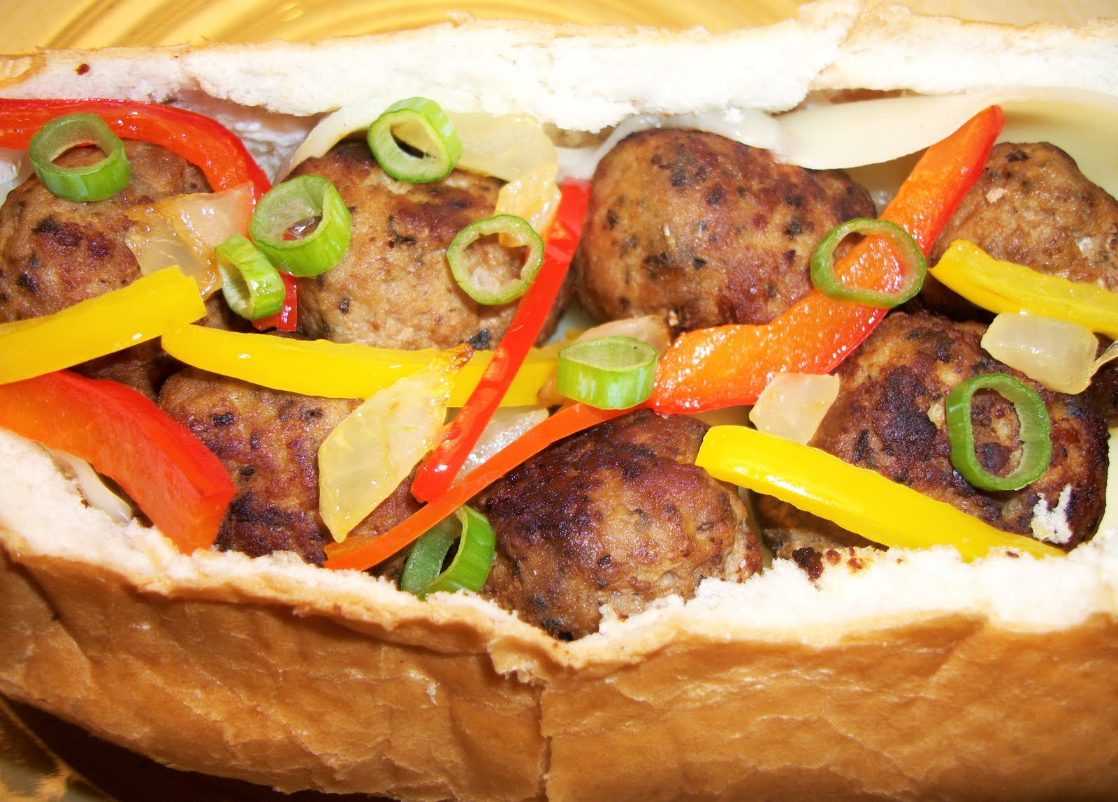 What's Cooking With Melissa?: Turkey Meatball Sandwich with Sauteed ...