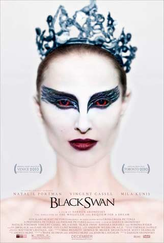 "Roommate J, Beetle and I went to see a matinee of ""Black Swan."