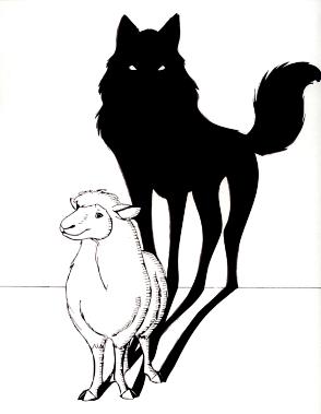 12 muertos en un atentado terrorista en Paris - Página 2 Sombra+lobo