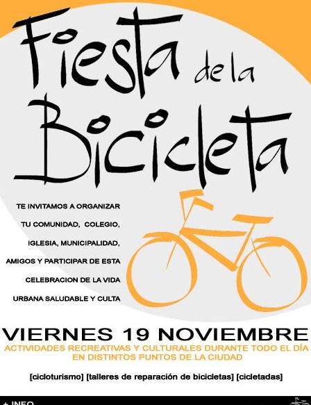 Primera Fiesta Cultural de la Bicicleta