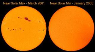 सूरज के धब्बे, sunspots