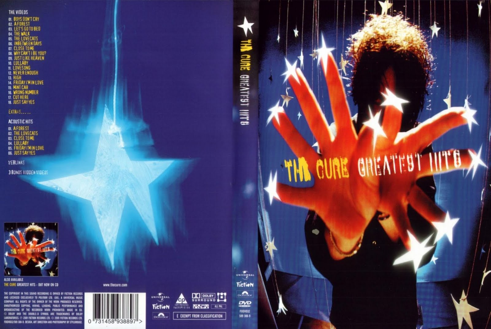 the cure descargar discografia