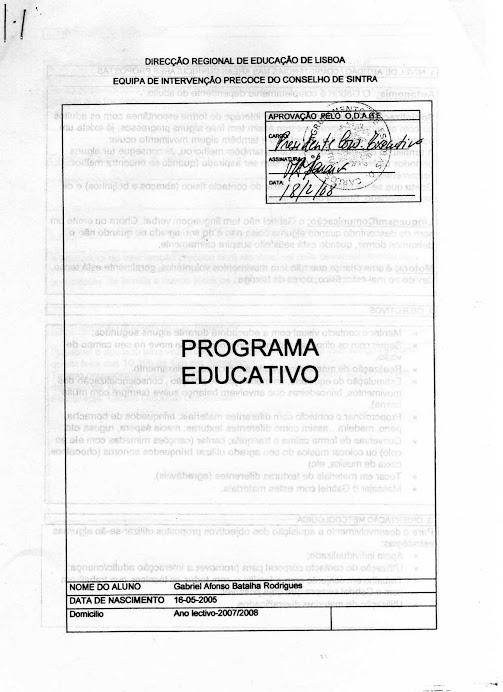 MINISTÉRIO EDUCAÇÃO