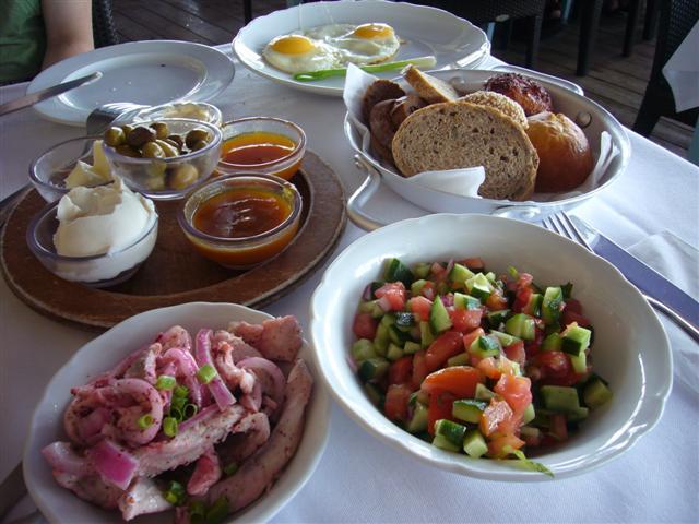 Manta Ray Tel Aviv Breakfast Manta Ray's Breakfast is