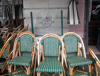 Cafe De La Paix Chairs Up Close. Click To Enlarge.