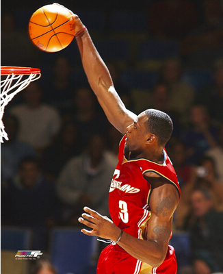 lebron james dunk on kobe bryant. lebron james heat dunk