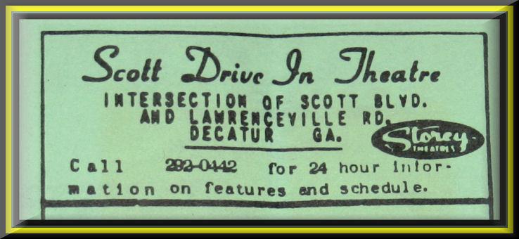 SCOTT DRIVE-IN THEATRE