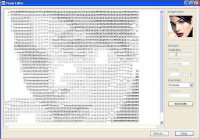 :: ASCII Arts Generator 2007 3.2.2 :: Ascii-art-generator3-big