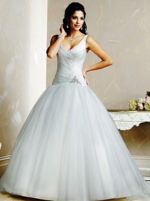 If romance is your style then a princess gown like the one