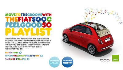 [Fiat 500C y Spotify]