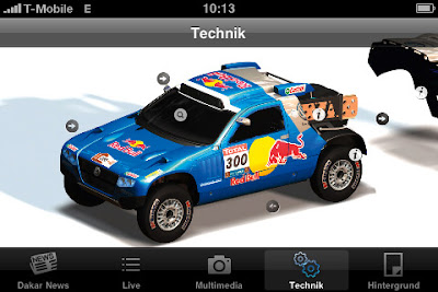 [Dakar Argentina Chile 2010 iPhone app]
