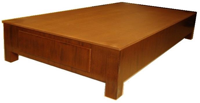 Mueblera solang bases para cama modelo barcelona for Base para colchon king size