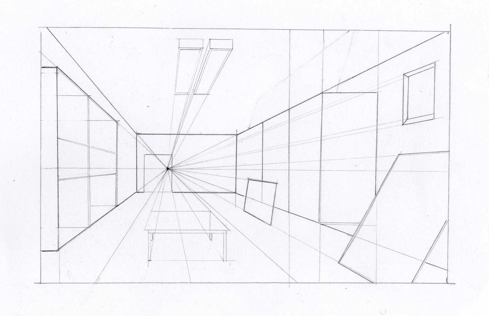 Geometria descriptiva fus septiembre 2010 for Exterior un punto de fuga