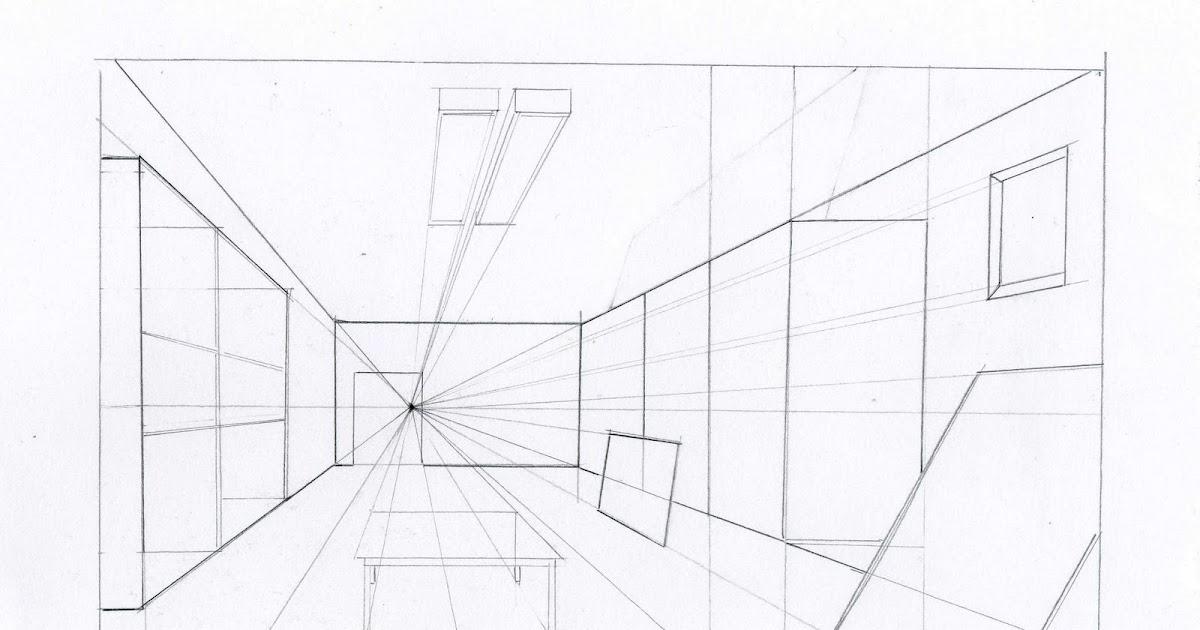 Cr nica de un autodidacta del dibujo dibujar una for Exterior un punto de fuga