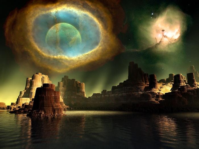 Imagenes de mundos paralelo