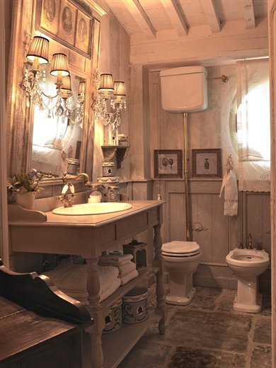 My shabby life emanuela marchesini profumo di provenza in toscana for Bagno stile country