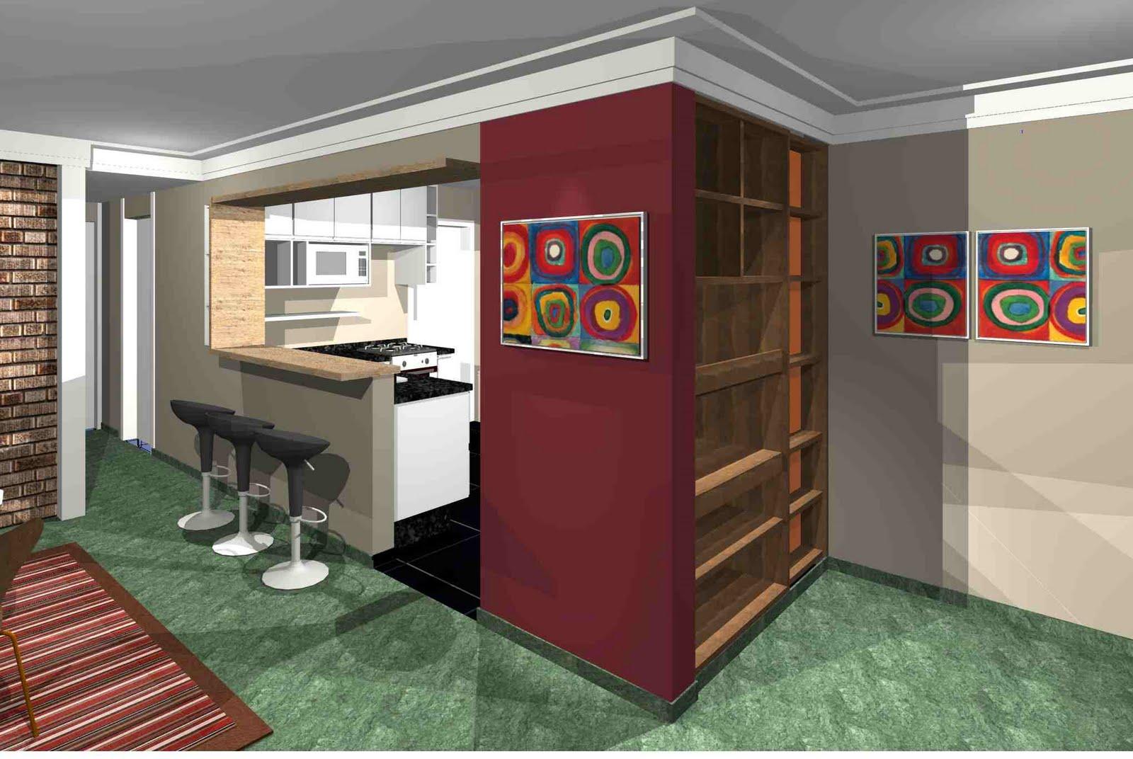 Projetos e Execução de obras: Cozinha integrada #A92822 1600 1072
