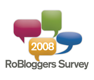 Chestionar pentru bloggeri - 2008