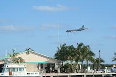 P-3 Landing