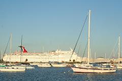 Cruise Ship Passing Davis Island