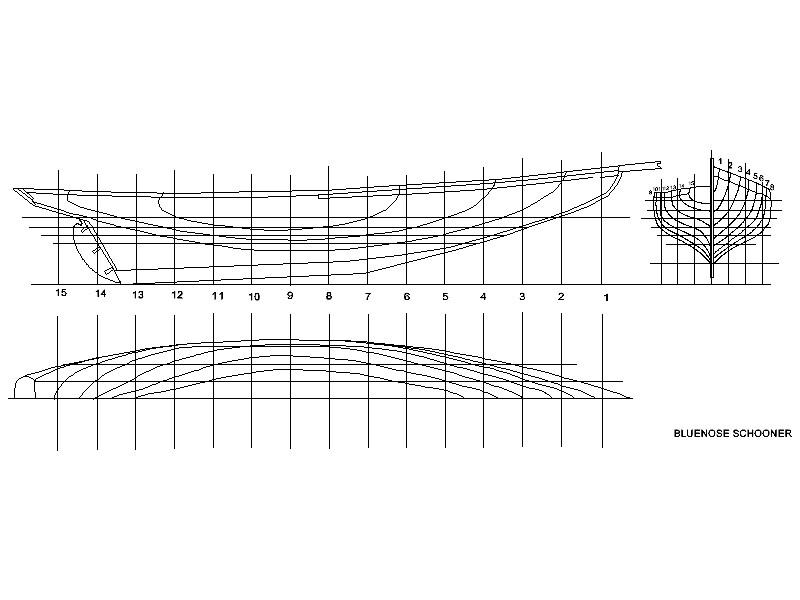 Wooden Model Builder: The Schooner project