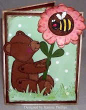 Published Card...3-D Bear