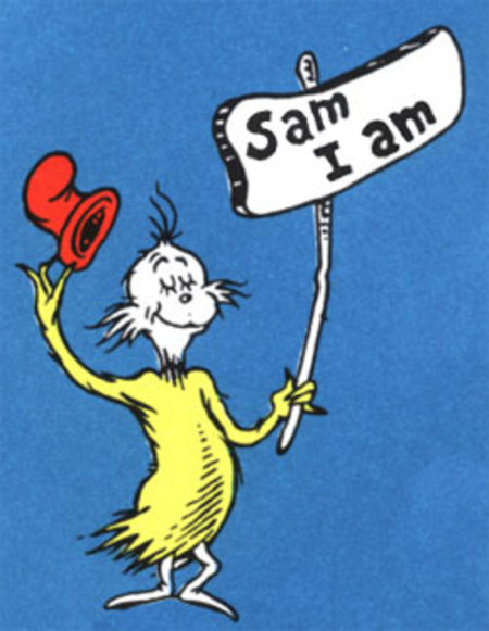 WhatTheFrugal.com: Summer of Sam I Am I Am Sam Dr Seuss