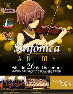 (Concierto) Sinfonica Anime 2009 Sabado 26 de diciembre