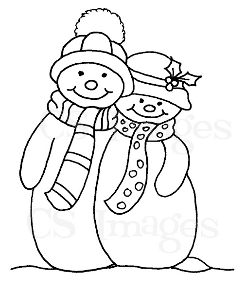mrs frosty coloring pages - photo#3