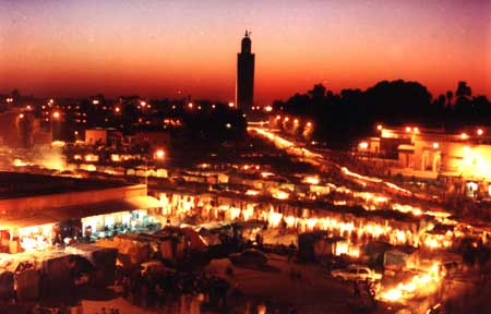 marrakech DE LONDON A LA CIUDAD DE LOS GATOS