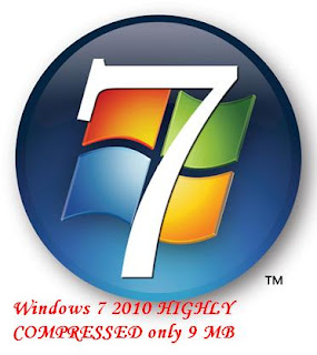 Windows 7 Higly Compress(100 % working) || 9 Mb only