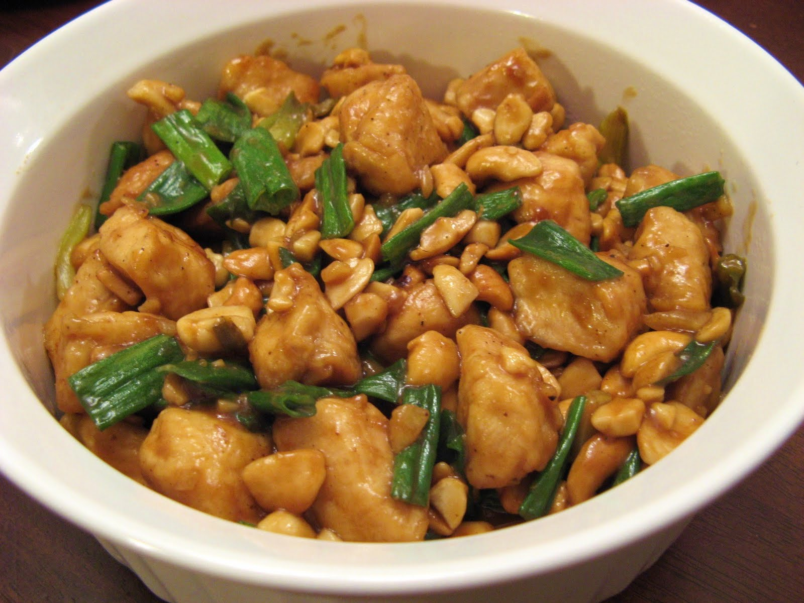 Chicken With Cashews Recipe — Dishmaps