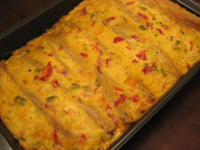 The Well-Fed Newlyweds: Creamy Shrimp Enchiladas