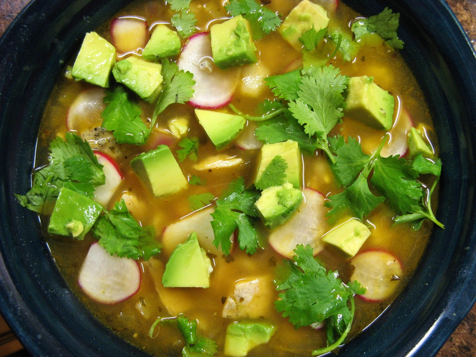 Green Chile, Chicken, Posole Soup Recipe — Dishmaps