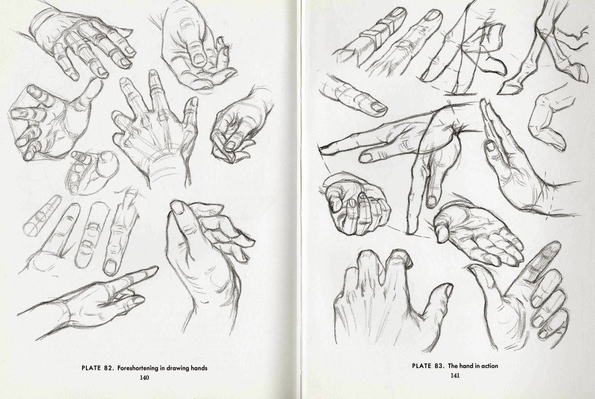 Character Design Hands : Character and creature design notes hand reference part two