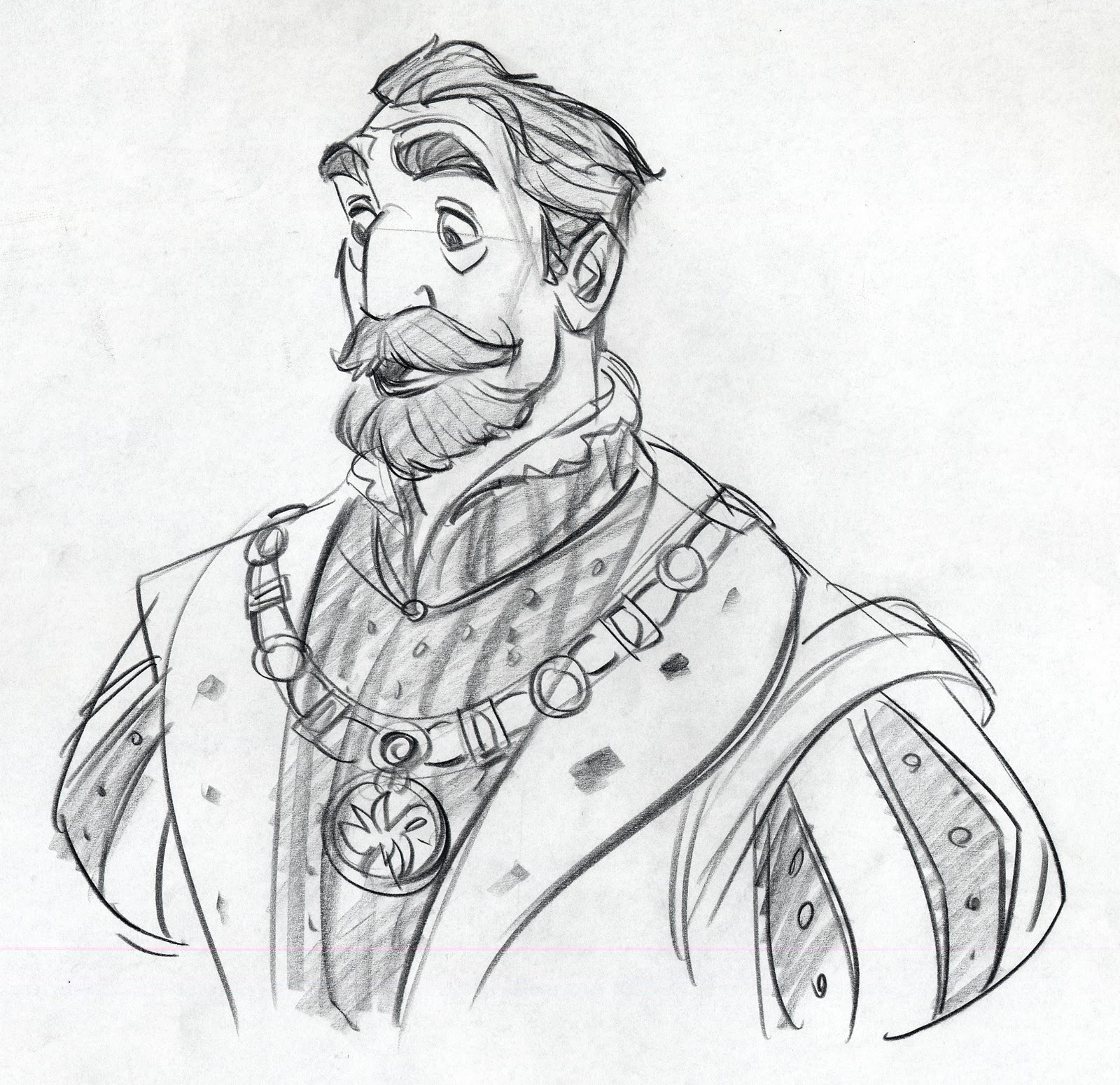 The Character Design : King character designs expression sheets tangled