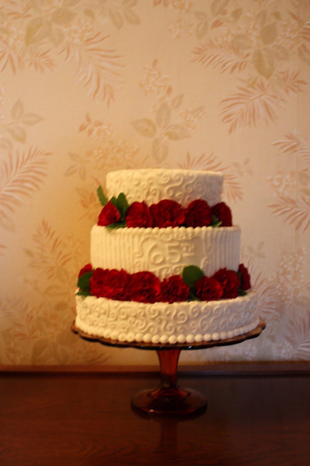 65 wedding anniversary cakes