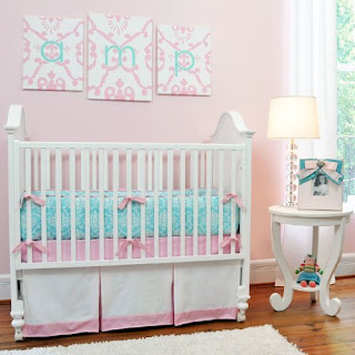 Tiffany & Co Inspired   Crib Bedding Set