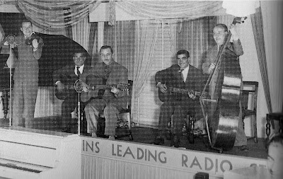 Stephane Grappelli, Eugène Vées, Django, Joseph Reinhardt e Roger Grasset