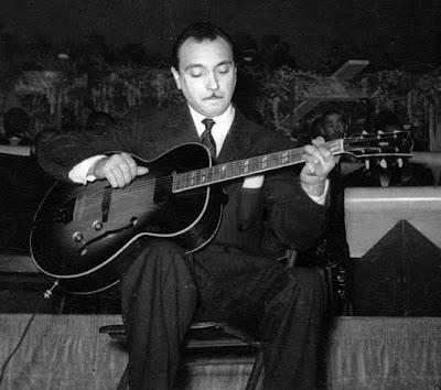 Na turnê nos EUA, em 1946