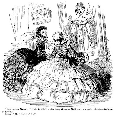 Hiding Behind Nanny's Petticoats